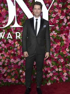 Matthew Morrison arrives at the 72nd annual Tony Awards