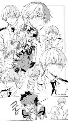 Characters: Todoroki Shouto, Midoriya Izuku, Uraraka Ochako, Tenya Iida.