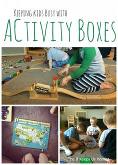 Fostering Independent Play with Activity Boxes