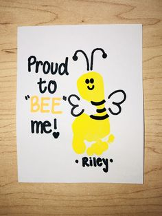 Bee art project infant art all about me unit infant classroom 56 ideas for craft baby room foot prints Daycare Crafts, Classroom Crafts, Baby Crafts, Toddler Crafts, Infant Crafts, Baby Footprint Crafts, Daycare Decorations, Bee Crafts For Kids, All About Me Crafts