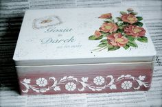 Wedding box http://blog.decoupage-garden.com http://weddings-garden.blogspot.com