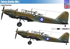 Although the Battle served well in the training role, it is sadly not in general… Ww2 Aircraft, Military Aircraft, Fighting Plane, Hellenic Air Force, Plane Design, Ww2 Planes, Military Weapons, Camouflage, Royal Air Force