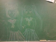 Olha oque eu fiz na Lousã da sala de aula da minha mãe !