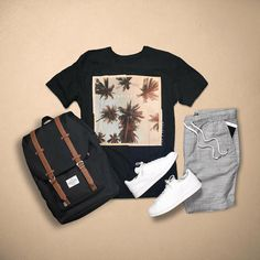 38 New Ideas For Moda Masculina Casual Verano Stylish Mens Outfits, Casual Summer Outfits, Stylish Clothes, Outfit Summer, Summer Shoes, Man Clothes, Mode Man, Mein Style, Outfit Grid