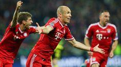 Arjen Robben (Bayern Muenchen) - Borussia Dortmund vs Bayern Muenchen 1-2 - UEFA Champions League 2013 Final