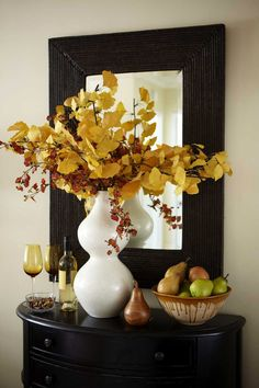"""Warm Autumn Entryway from DIY user """"Patrick"""" >> http://diy.roomzaar.com/rate-my-space/Dining-Rooms/Union-Square-Dining-Room-and-Entry/detail.esi?oid=9079680=pinterest#"""