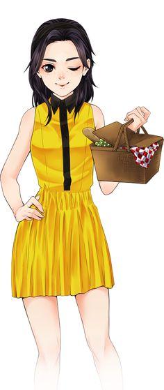 Rinmaru Games-Manga creator school days: Holiday special
