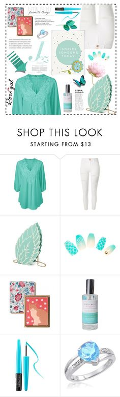 """Rosegal."" by natalyapril1976 on Polyvore featuring Mode, River Island, MAKE UP FOR EVER und Amanda Rose Collection"