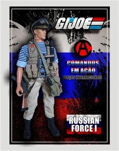 G.I. Joe – Comandos em Ação – Forças Internacionais – Russian Force I