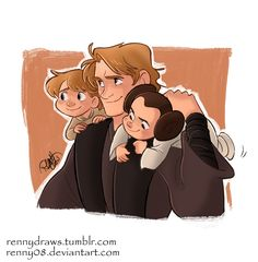 Skywalkers by Renny08.deviantart.com on @DeviantArt