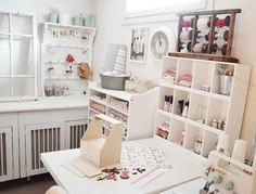 delectable crafting room