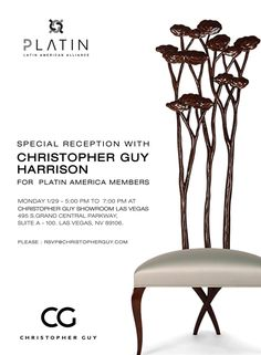 Make sure to join us for our event with Platin America today at 5pm in A-100 at the World Market Center! We can't wait to see you there! #vegasmarket2018 #cgxus #cgxlv #christopherguylasvegas #platinamerica