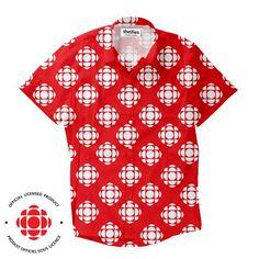 Short-Sleeve Button Shirts - CBC/Radio-Canada Gem Short-Sleeve Button Down Shirt Button Shirts, Button Down Shirt, Men Casual, Gems, Canada, Mens Tops, T Shirt, Sleeve, Count
