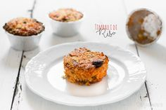 Mini timballi di Riso al Forno monoporzione per Bimbi Gourmet