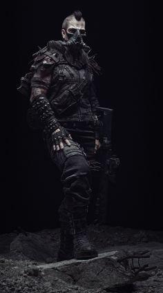 ArtStation - Dystopian character, Andrey Zaykov