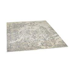 Teppich Chenille, L:210cm x B:150cm, grau, grau