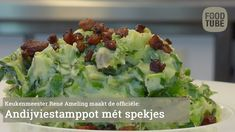 Stamppot rauwe andijvie met spekjes - YouTube Vegetable Side Dishes, Potato Salad, Cabbage, Low Carb, Baking, Dinner, Vegetables, Ethnic Recipes, Quiche