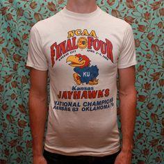 1988 Kansas Jayhawks Final Four Champion by RomancingTheGhost, $21.91