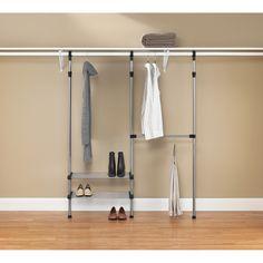 Closet Rods Walmart Whitmor Modular Custom Closet Kit  Brooklyn Or Bust  Pinterest