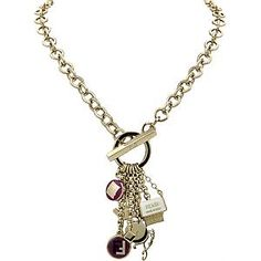 Fendi Front Toggle Charm Necklace | Fendi Accessories - Bag Borrow or Steal