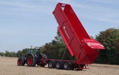 """Große Mengen unterschiedlicher Transportgüter stellen eine logistische Herausforderung gerade für große Agrarbetriebe dar. Zum einen will der landwirtschaftliche Betrieb auf dem Feld bodenschonende Fahrwerke die gleichzeitig auch die Belastung durch unebene Feldwege """"wegstecken"""". Andererseits soll bei optimalem Leergewicht eine hohe Nutzlast transportiert werden.  Deshalb hat die Annaburger Nutzfahrzeug GmbH ihr Top-Modell, der EcoLiner HTS 32.12, mit 33 Tonnen zulässigem Gesamtgewicht (zGG)…"""
