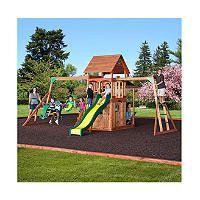 $749 Saratoga Cedar Swing/Play Set - Original Price $949.00 - Sam's Club