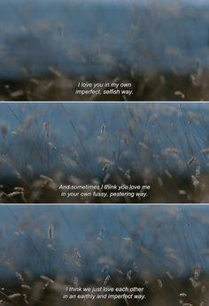 Maybe I'm sad wanting you., anamorphosis-and-isolate:   ― Liv & Ingmar (2012)...