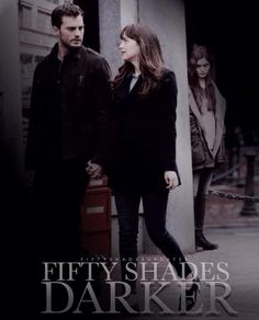 "Fifty Shades Darker Jamie Dornan and Dakota Johnson "" This edit is creepy as hell but i love it credits to FfityshadesUpdates """