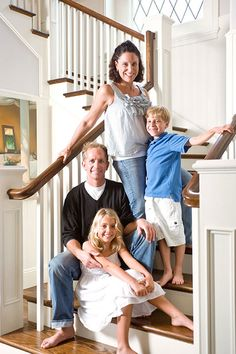 Great shot for family photo session