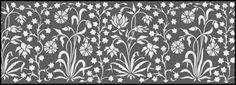 Click to see the actual IN39 - Border No 26 stencil design.