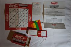 1987 Coca Cola Music Trivia Game From The UK