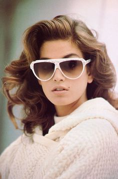Cindy Crawford  Laura Biagiotti 1987  Photographed by Arthur Elgort