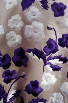 Jonathan Saunders SS14 #detail #textile #emboidery