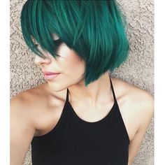 Emerald green- LOVE this color!!!                                                                                                                                                                                 More