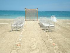 fe9fa6b00 Sandals Whitehouse - beach ceremony setup All Inclusive Honeymoon Packages