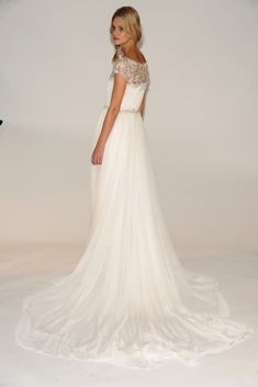 Marchesa's Secret Garden Inspired Fall 2014 Collection from NY Bridal Fashion Market