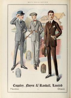 Men's wear of Canada (January-December 1917)