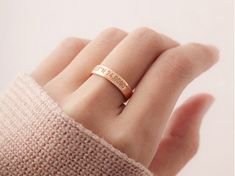 Remember a special place with a GPS coordinates jewelry piece, engraved with its longitude and latitude. Coordinate Rings, Ring Size Guide, Flower Nails, Jewelry Gifts, Gold Rings, Sterling Silver, Classic, Plate, Free