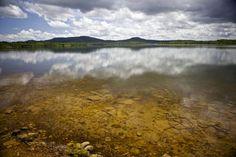 Açude Caldeirão é belo e vai preservar da extinção o maior peixe de água doce do planeta