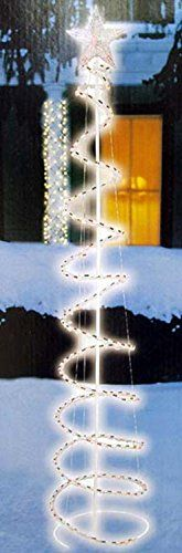 5 MultiColor LED Lighted Outdoor Spiral Christmas Tree Yard Art Decoration ** Continue to the product at the image link.