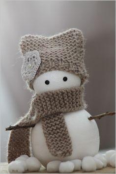 bonhomme de neige tout doux