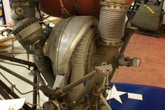 """Steam generator and turbopumps on Engine (""""As Removed"""") at Air Zoo Rocket Engine, Steam Generator, Tango, Whiskey, Vacuums, Engineering, How To Remove, Tech, Space"""