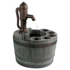 Planter & fountain for the garden