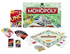 Maven Gifts Classic Uno Cards with Classic Monopoly Game by Hasbro >>> Continue to the product at the image link.