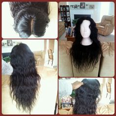 """My 2nd U part wig with a lace closure. 12"""" closure, 16, 20, 22, & 24"""" peruvian body wave wefts from a vender on Aliexpress. :) Follow me on IG: SorryImHuman I might post pictures of me wearing it in the future. :D"""