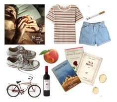 """""""Call me by your name and I'll call you by mine"""" by vanessxox ❤ liked on Polyvore featuring Converse and Schwinn"""
