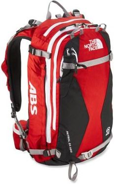 The North Face Patrol 24 ABS avalanche airbag pack enhances protection for  winter pursuits in the backcountry. Its innovative airbag system helps  prevent ... 4f7d00cd5bc7