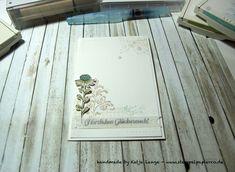 Glückwunschkarte mit Timeless Textures von Stampin' Up! - Flowering Fields