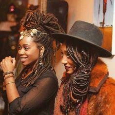 The beauty of sisterhood is so powerful!  Tag your... - Embracing the Culture of Locs & Textured Hair