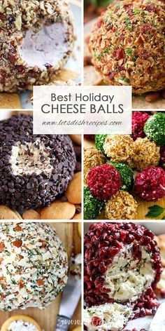 Holiday Cheese Ball Recipes Best Holiday Cheese Ball Recipes: These savory and sweet cheese balls are perfect for serving as Thanksgiving or Christmas dinner appetizers, or to bring to your next holiday party.Best Holiday Cheese Ball Recipes: These savory Holiday Party Appetizers, Christmas Party Food, Snacks Für Party, Christmas Cooking, Christmas Treats, Appetizers For Thanksgiving, Christmas Desserts, Christmas Dinners, Christmas Time